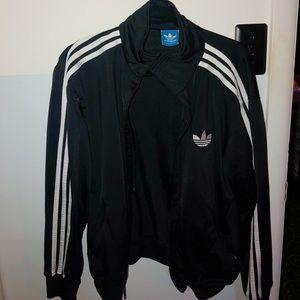 Black adidas superstar jacket